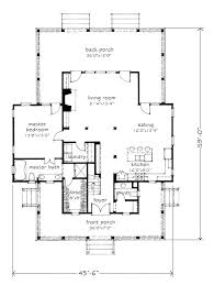 Drawing Floor Plan Four Gables Southern Living House Plans