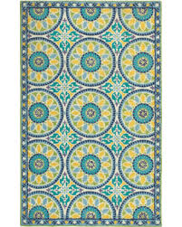 Blue Striped Area Rugs Check Out These Deals On Lisette Cerulean Blue Striped Area