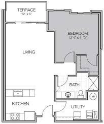Luxury Apartment Floor Plans Apartment Floor Plan R Mosaic On Oakland Luxury Apartments