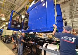 volvo trucks lay 300 virginia factory workers trucks