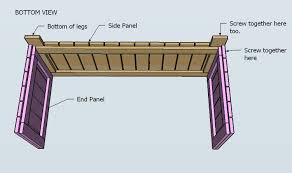 Blueprints To Build A Toy Box by Ana White Outdoor Storage Bench Diy Projects