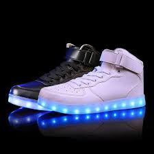 led light up shoes for adults free shipping unisex high cut led light up shoes adults men women