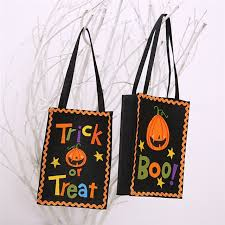 pumpkin gift style bag gift bag felt cloth 15x21cm