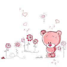 online shop cute lovely pink bear nursery girl baby kids children online shop cute lovely pink bear nursery girl baby kids children art decal wall sticker bedroom wall stickers home decor aliexpress mobile