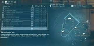 mgs5 africa map pitch mission guide mgsv the phantom