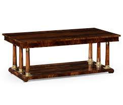 Victorian Coffee Table by Biedermeier Style Rectangular Coffee Table