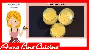 cuisine cookeo crème au citron soup co