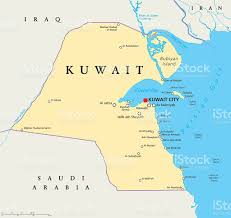 Political Map Middle East by Kuwait Political Map Stock Vector Art 540504666 Istock