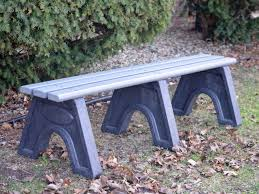 Recycled Plastic Outdoor Furniture Sport Bench By Jayhawk Plastics Outdoor Benches For Park And