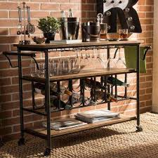 bar carts kitchen u0026 dining room furniture the home depot
