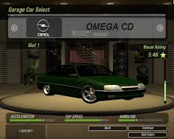 opel omega 2016 need for speed underground 2 opel omega cd 4 1 mpfi nfscars