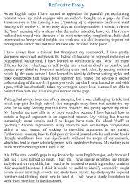 download reflective essay format haadyaooverbayresort com