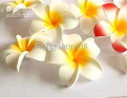 silk flower 2018 artificial plumeria flower silk flower fashion decorations