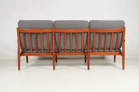 vintage teak sofa by grete jalk for glostrup for sale at pamono