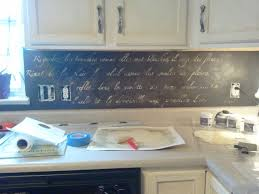 kitchen backsplash ideas diy diy stenciled backsplash snazzy things