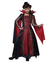 Scary Girls Halloween Costumes Victorian Vampira Girls Costume Scary Costumes