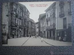 fotos antiguas eibar eibar guipuzcoa calle maría ángela postal antig comprar postales