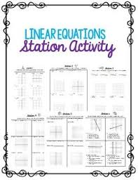 46 best algebra 1 unit 4 graphing linear equations images on