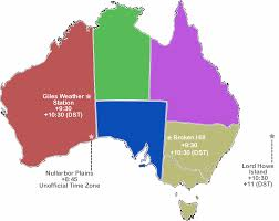 Map Of Time Zones by Time Zones In Australia U2014 Time Genie U0027s Encyclopedia
