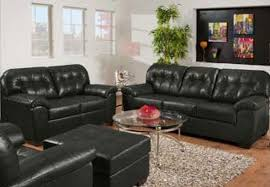 Simmons Leather Sofa Soho Onyx Showtime Breathable Leather Sofa And Loveseat