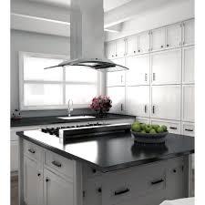 Modern Kitchen Range Hoods - kitchen style stainless steel glass canopy range hood modern