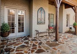 Outdoor Flooring Ideas Outdoor Flooring Options With Natural Multi Color Stones