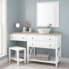 makeup vanity double vanityith makeup counter or drawers master