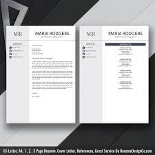 professional resume template simple cv template ms word