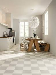 tiled kitchen floors ideas kitchen awesome white themed open kitchen and dining room