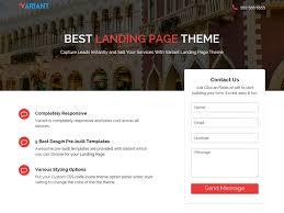 25 best free landing page wordpress themes 2017 colorlib