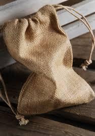 burlap drawstring bags burlap favor bags 5x7