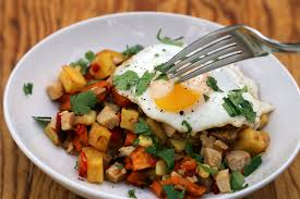 breakfast thanksgiving thanksgiving leftovers morning after turkey breakfast hash with
