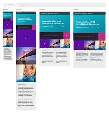 responsive design template responsive psd template
