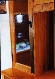 Hutch 3 Custom Handmade Rustic Oak China Cabinet Hutch By Dumond U0027s