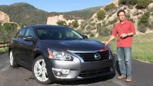 nissan altima 2015 fully loaded price 2014 nissan altima review youtube