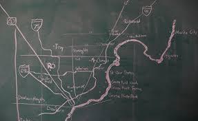 Camp Dearborn Map Detroit Methods Map