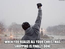 Christmas Shopping Meme - balboa christmas shopping