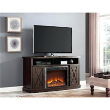 tv stands big lots center with fireplace and open shelf placed on