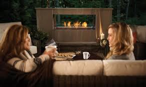 see thru galaxy 48 outdoor fireplace