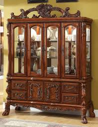 buy furniture of america cm3557hb medieve buffet hutch