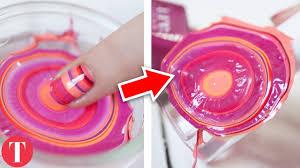 10 most amazing diy nail art hacks youtube