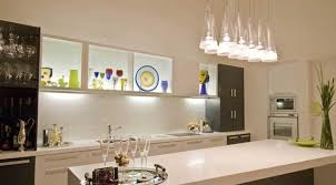 luxurious lights and white cabinet kitchen island lighting with