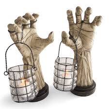 halloween candles amazon creepy hands with lanterns the green head