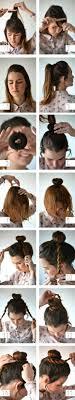 Hochsteckfrisurenen Selber Machen Mittellange Haar Einfach by Mittellange Haare Leicht Hochstecken