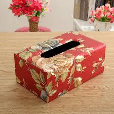 decorative tissue box tissue box cover leather modern for car decorative
