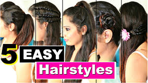 5 easy heatless hairstyles quick college hairstyles