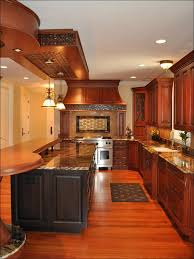 Dark Kitchen Cabinets With Light Granite Kitchen White Kitchen Floor Kitchen Countertops With White