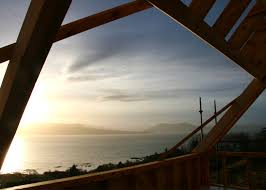 framing the view the sound of sleat towards the highlands