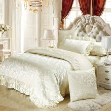 Satin Bedding Compare Prices On White Satin Bedding Sets Online Shopping Buy