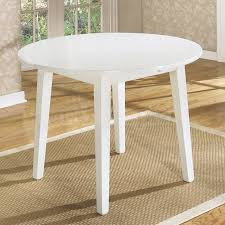 Gorgeous White Drop Leaf Table And Chairs Multifunctional Drop - Round drop leaf kitchen table